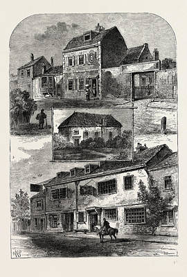 Old Chelsea In 1750 Art Print by Litz Collection
