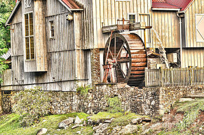 Photograph - Old Cherokee Mill by Scott Hansen