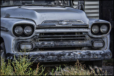Photograph - Old Chevy by Erika Fawcett