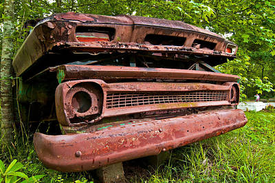 Photograph - Old Chevy Truck by Andy Crawford