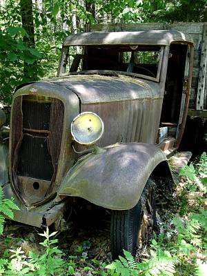 Photograph - Old Chevy Truck by Kerri Mortenson