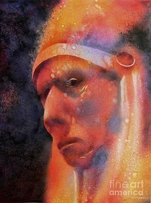 Visionary Painting - Old Cheyenne by Robert Hooper