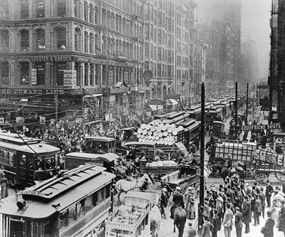 Chicago Photograph - Old Chicago Photo by Horsch Gallery