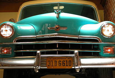 Valerie Paterson Wall Art - Photograph - Old Chrysler by Valerie Paterson