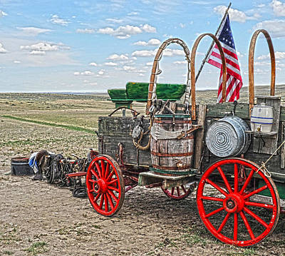 Photograph - Old Chuck's Wagon by Amanda Smith