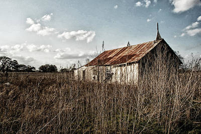 Photograph - Old Church At Muldoon by Susan D Moody