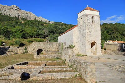 Photograph - Old Church Historic Site In Baska by Brch Photography