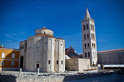 Photograph - Old Church In Town Of Zadar by Brch Photography
