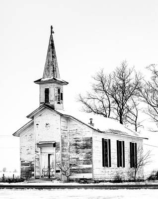Photograph - Old Church by James Howe