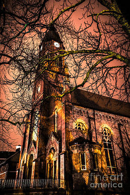 Photograph - Old Church by Michael Arend