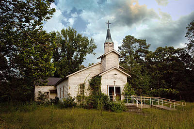 Photograph - Old Church by Robert Camp