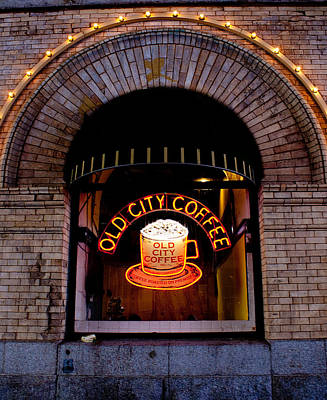 Photograph - Old City Coffee by Kristia Adams