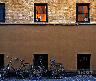 Photograph - Old City Copenhagen by Inge Riis McDonald