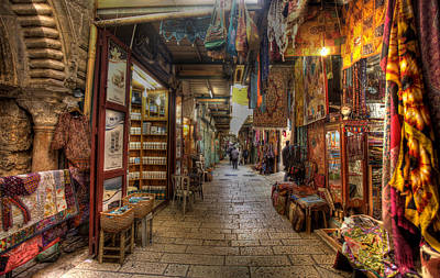 Photograph - Old City Market by Uri Baruch