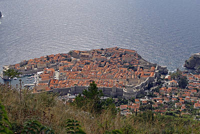 Photograph - Old City Of Dubrovnik  by Tony Murtagh