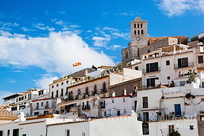 Photograph - Old City Of Ibiza Spain by Michal Bednarek