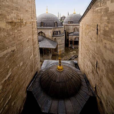 Old City Of Istanbul Art Print by Artur Bogacki