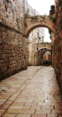 Photograph - Old City Street In Israel by Doc Braham