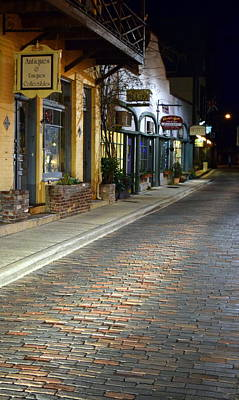 Photograph - Old City Street St. Augustine Fl 1 by Sheri McLeroy
