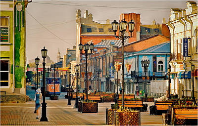 Photograph - Old City Street by Vladimir Kholostykh