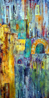 Painting - Old City West by Katie Black