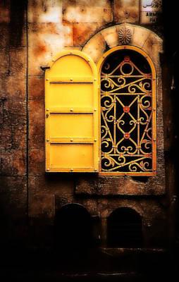 Shabbos Photograph - Yellow Window  by Doc Braham