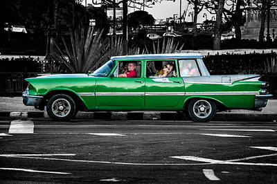 Photograph - Old Classic Car II by Patrick Boening