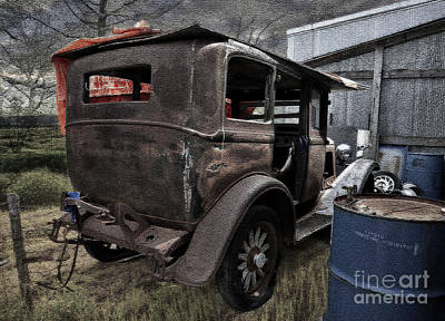 Photograph - Old Classic Car by Liane Wright