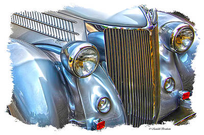 Old Classic Front End Beauty Art Print by Randall Branham