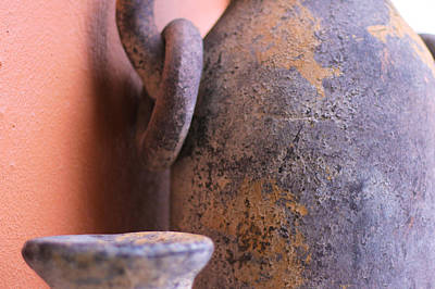 Photograph - Old Clay Pots by Robert Bascelli