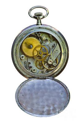 Old Clock Art Print by Michal Boubin