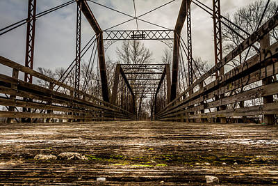 Photograph - Old Closed Bridge by Ron Pate