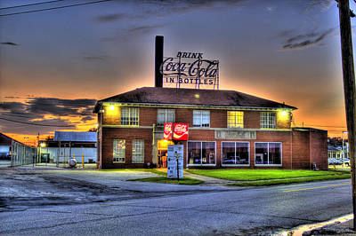 Photograph - Old Coca Cola Bottling Plant by Jonny D