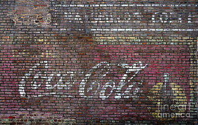 Photograph - Old Coke Ad by Paul Mashburn
