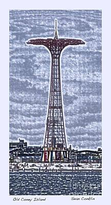 Old Coney Island Art Print