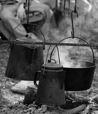 Photograph - Old Cooking Pots by David Lester