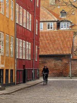 Photograph - Old Copenhagen by Inge Riis McDonald