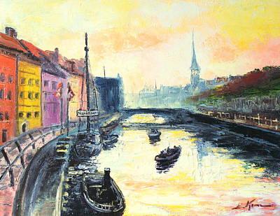 Old Copenhagen Art Print