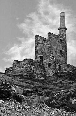 Photograph - Old Copper Mine West Cork by Jane McIlroy