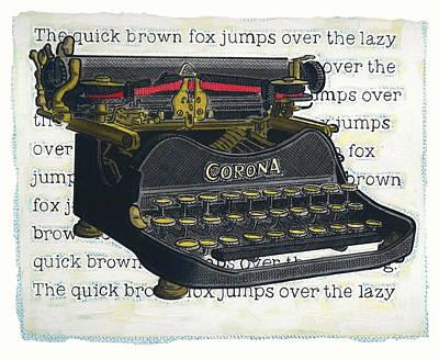 Old Corona Art Print