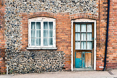 Window Wall Art - Photograph - Old Cottage by Tom Gowanlock