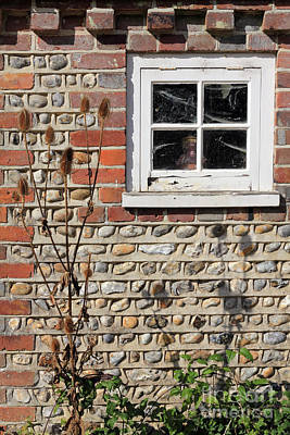 Ethereal - Old Cottage Window Sussex UK by Julia Gavin