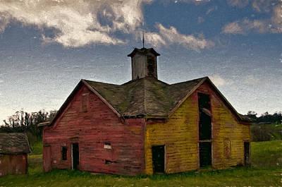 Old Country Barn Art Print by John K Woodruff
