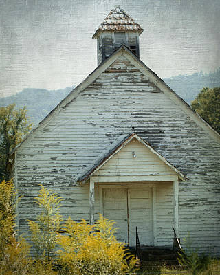 Photograph - Old Country Church by TnBackroadsPhotos