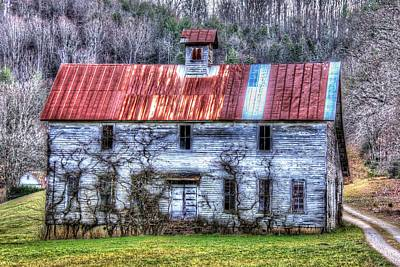 Photograph - Old Country Schoolhouse by Tom Culver