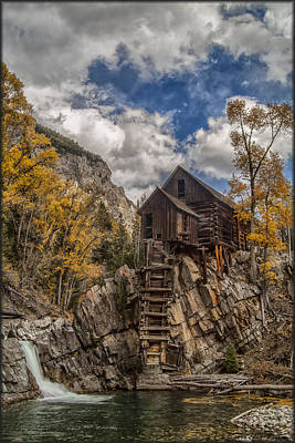 Photograph - Old Crystal Mill by Erika Fawcett