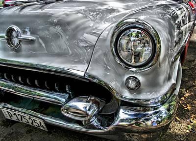 Photograph - Old Cuban Cars by Perry Frantzman