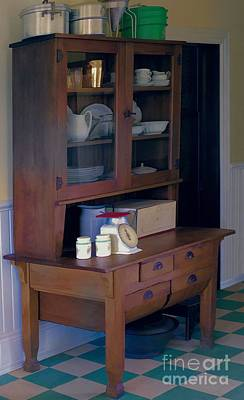 Photograph - Old Cupboard by Liane Wright