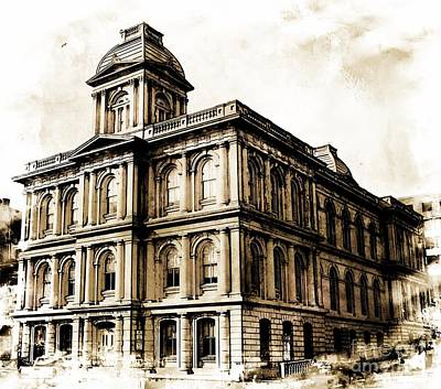 Photograph - Old Custom House by Marcia Lee Jones