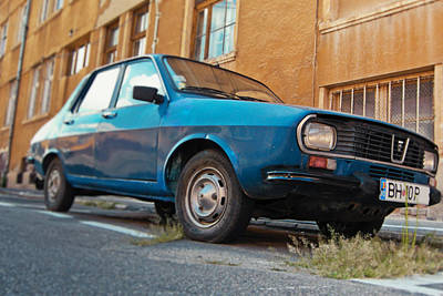Photograph - Old Dacia 1300 by Vlad Baciu